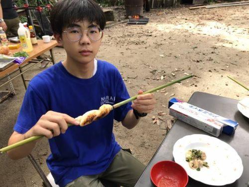 炊事章取得の訓練