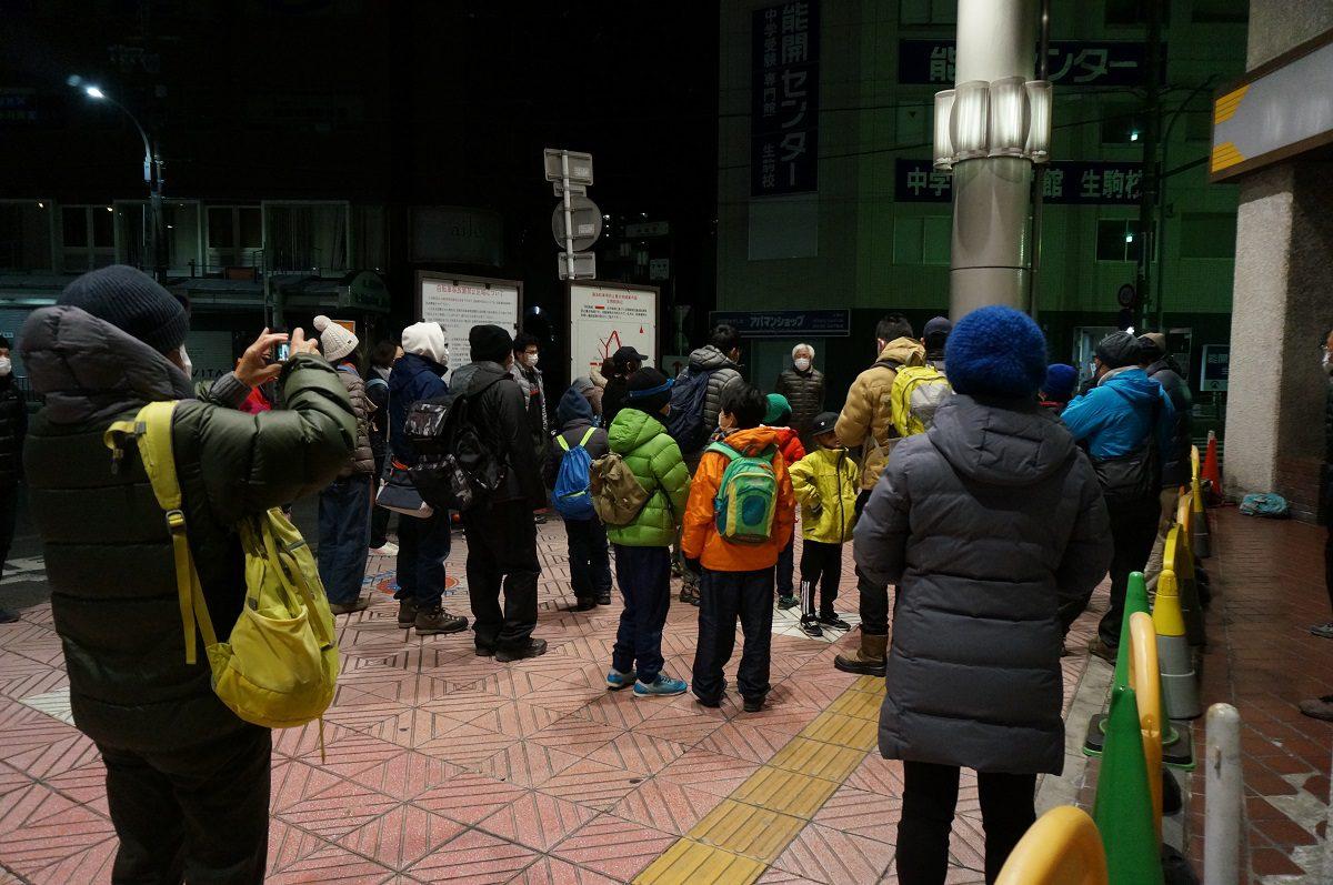 生駒駅前付近から生駒山頂を目指します!