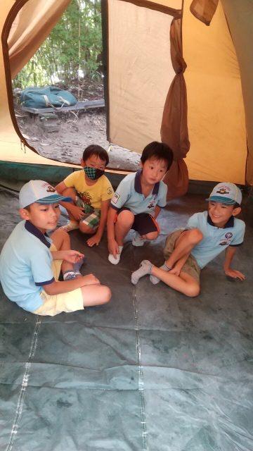 テント体験2