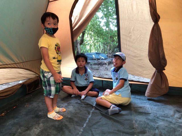 テント体験